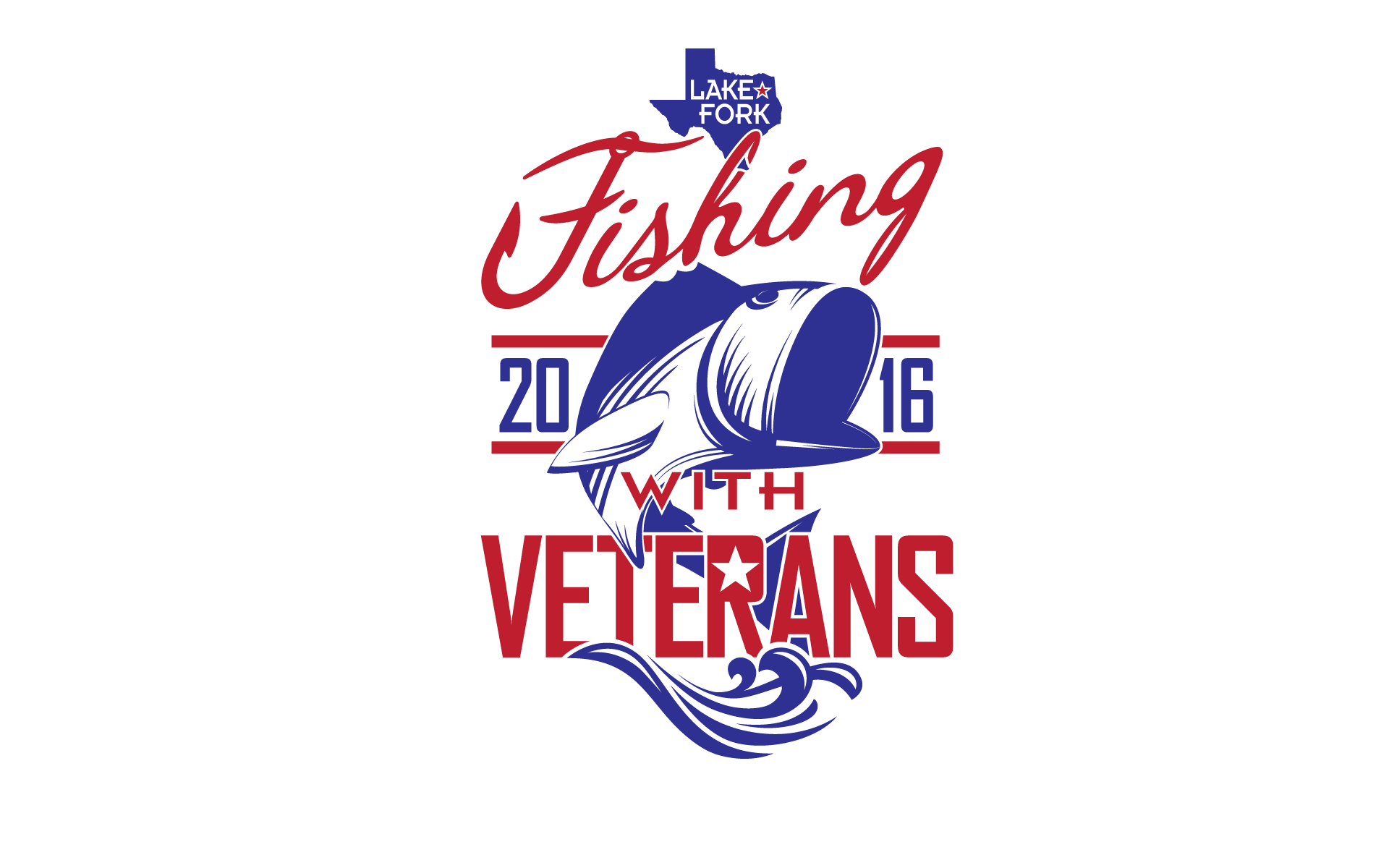 FISHING WITH VETERANS T-SHIRT